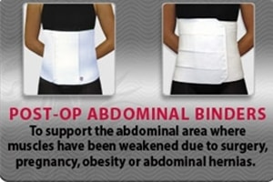 Post-Op Abdominal Binders
