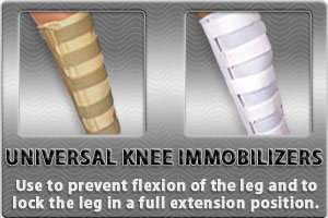 Universal Knee Immobilizers