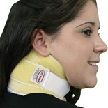 Beige with Beige Liner Cryotherapy Neck Wrap