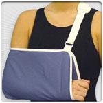 Economy Arm Sling Buckle Closure