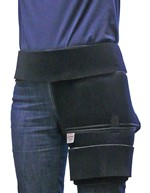 Foam Cryotherapy Compression Hip Wrap