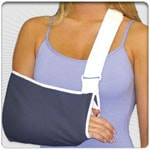 Tapered Arm Sling Velcro Closure w/Thumb Loop