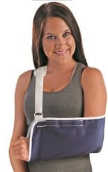Universal Arm Sling Velcro Closure with PV Pad