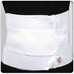 "9"" - 3 Panel Elastic Lumbosacral Support"