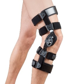 Dual Instabilities Custom-Fitted (Off-The-Shelf) Knee Brace