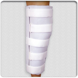 Economy Foam Lined Knee Immobilizer