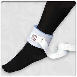 Foam Lined Wrist/Ankle Safety Device with Nylon Link