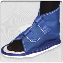 Rocker Bottom Cast Shoes - Canvas