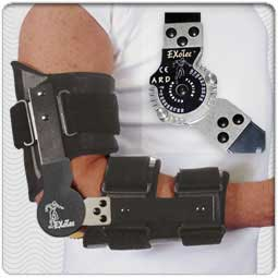 Sized Advanced Rehab Design (ARD) Elbow Brace
