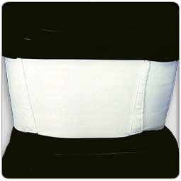 Sized Contoured Elastic Rib Belt - Female