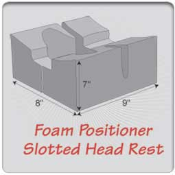 Slotted Head Rest
