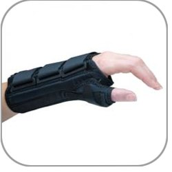 Ultimate™ V Wrist Support with Thumb Spica, 8""